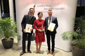 """FischerHaus Finalist beim """"Großen Preis des Mittelstandes"""" 2018"""