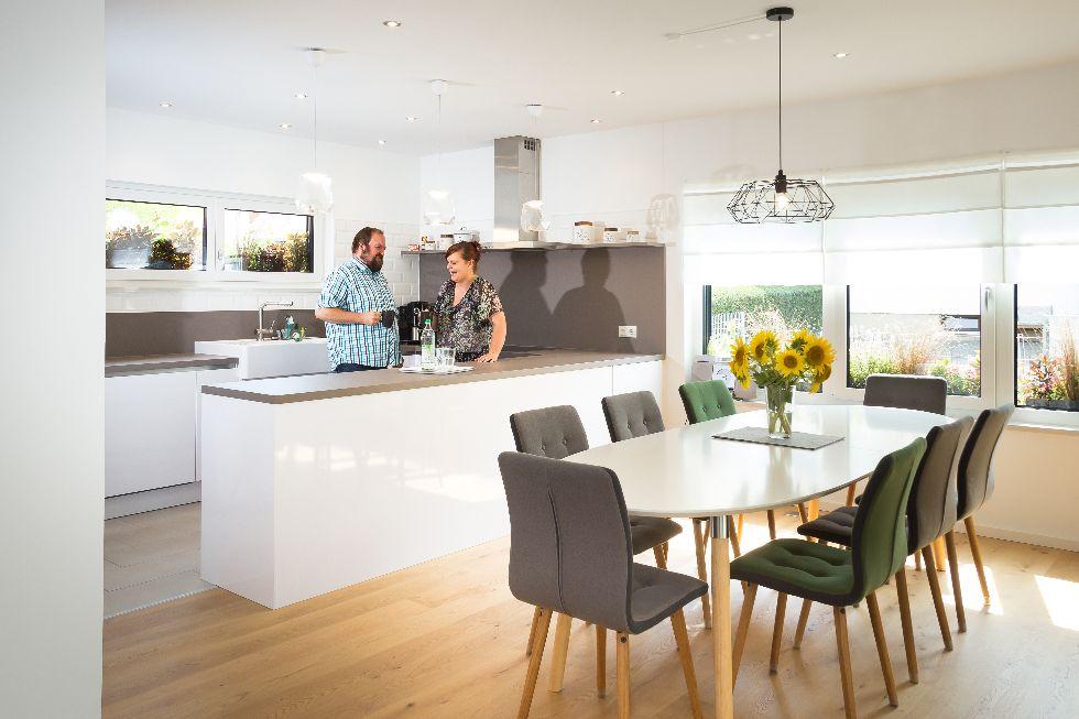 Küchen in praktischer U-Form