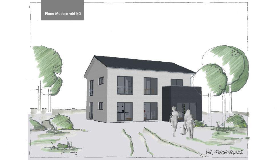 Einfamilienhaus Plano Modern 166