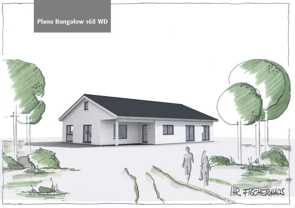 Einfamilienhaus Plano Bungalow 168