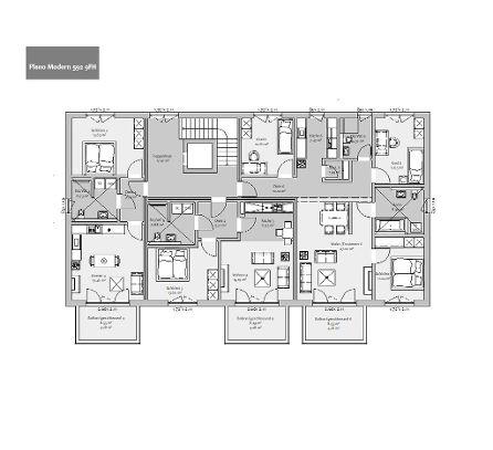 Grundriss Obergeschoss 2