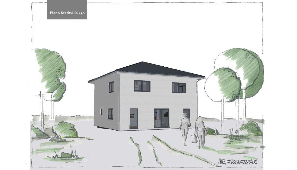 Einfamilienhaus Plano Stadtvilla 150