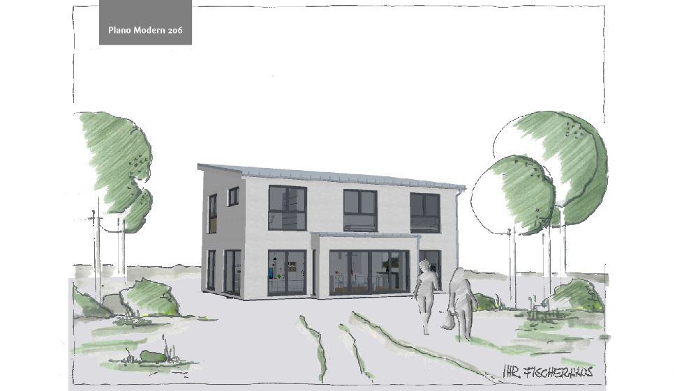 Einfamilienhaus Plano Modern 206