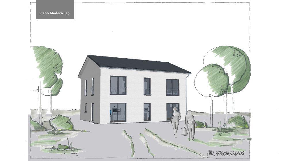 Einfamilienhaus Plano Modern 159