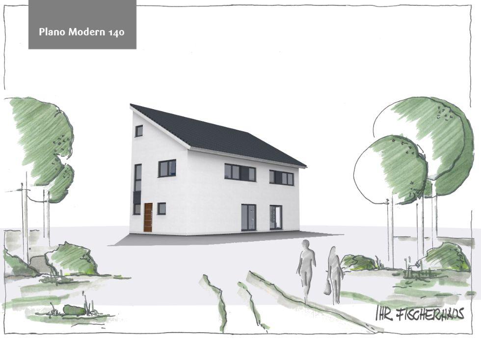 Doppelhaushälfte Plano Modern 140