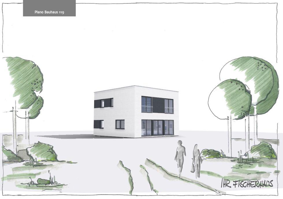 Doppelhaushälfte Plano Bauhaus 119