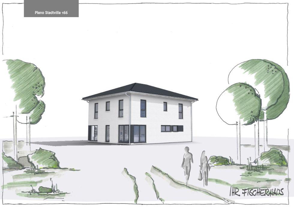 Einfamilienhaus Plano Stadtvilla 166