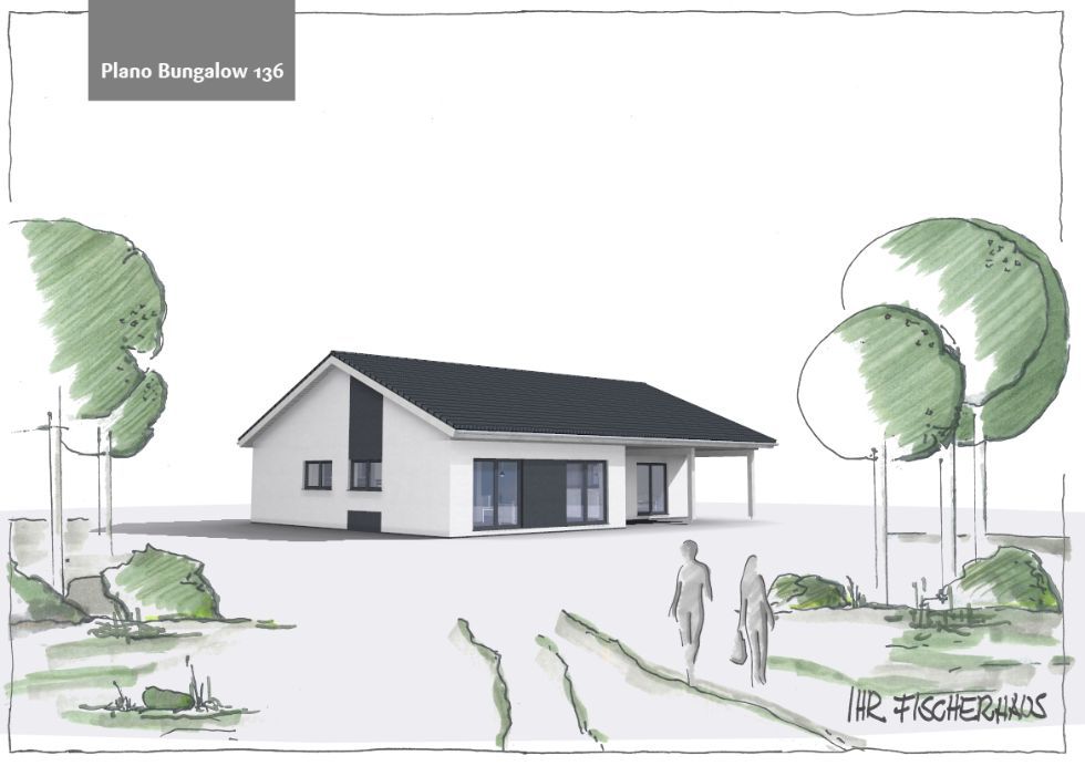 Einfamilienhaus Plano Bungalow 136