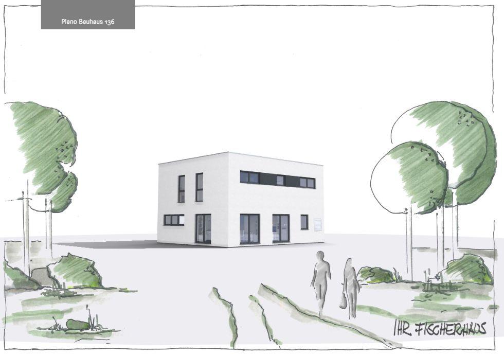 Einfamilienhaus Plano Bauhaus 136