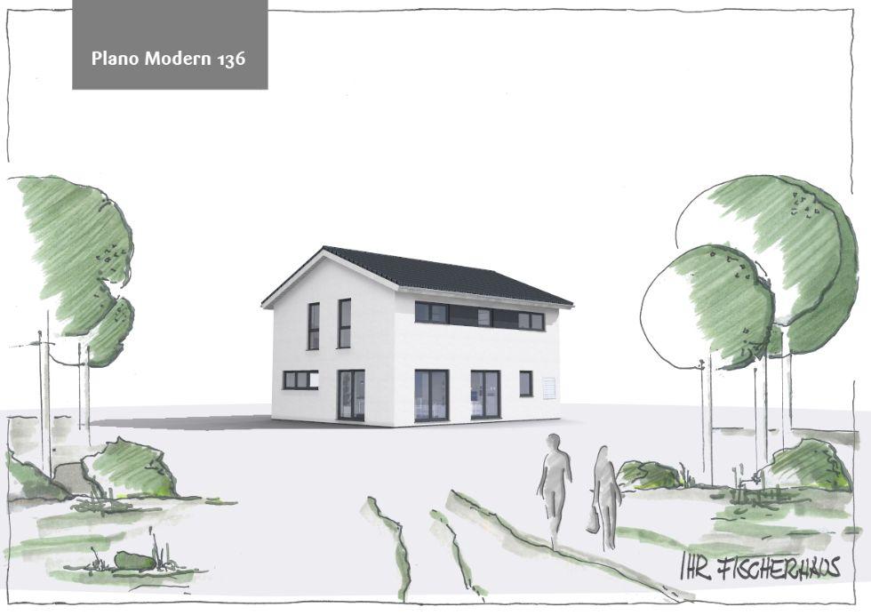 Einfamilienhaus Plano Modern 136