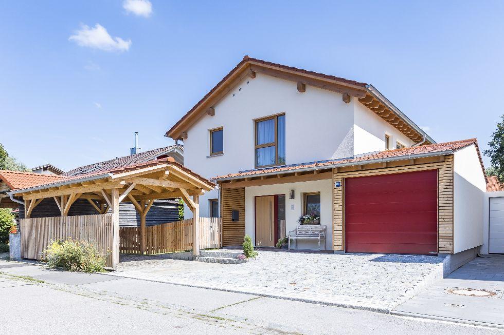 Einfamilienhaus Modern 210