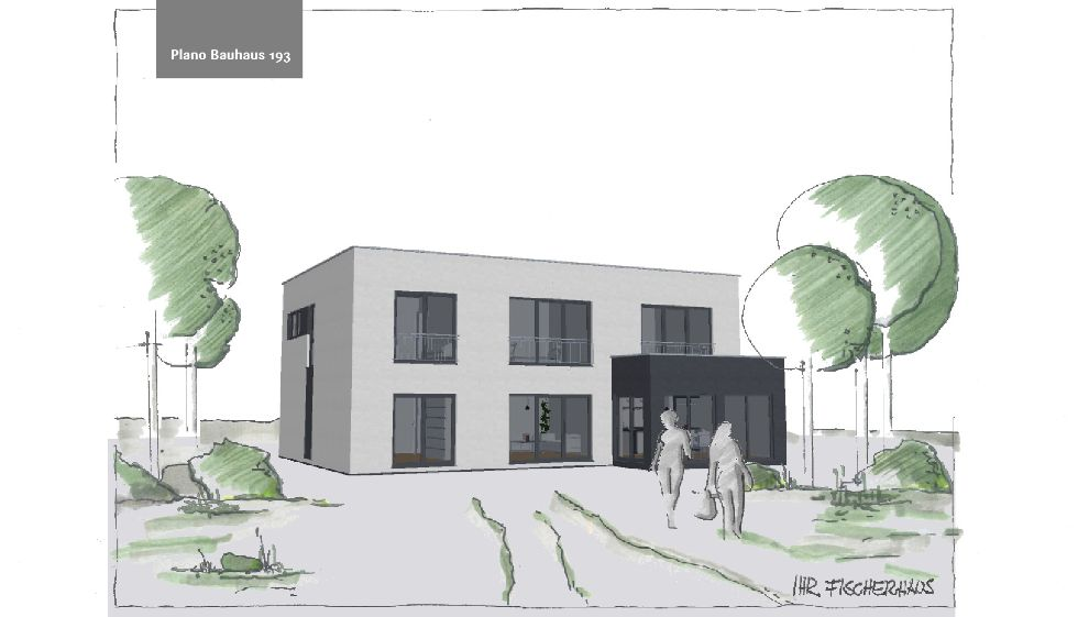 Einfamilienhaus Plano Bauhaus 193