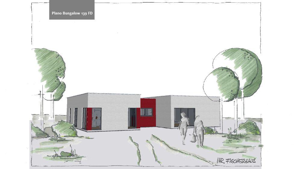 Einfamilienhaus Plano Bungalow 139 FD