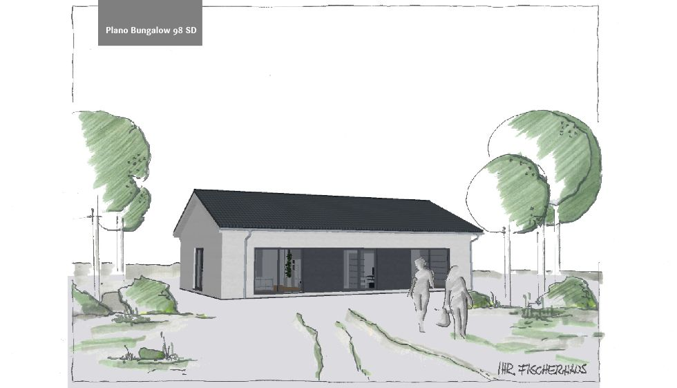 Einfamilienhaus Plano Bungalow 98
