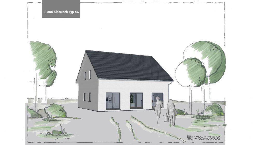 Einfamilienhaus Plano Klassisch 139  oG