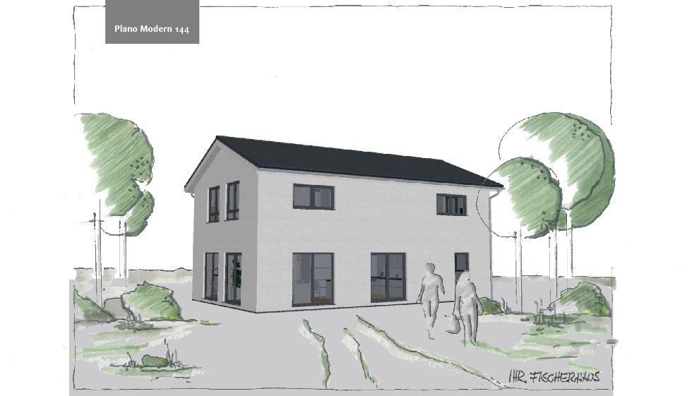 Einfamilienhaus Plano Modern 144