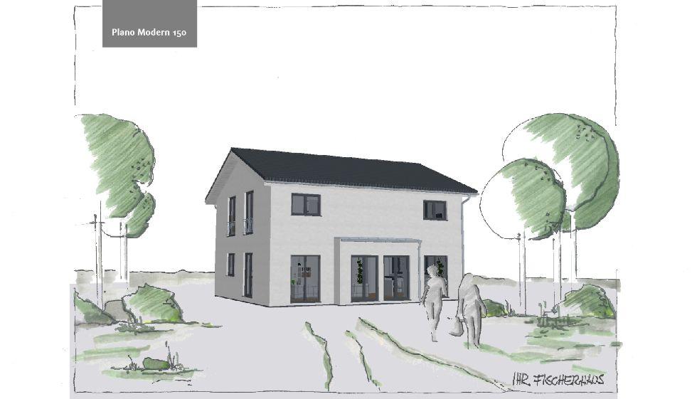 Einfamilienhaus Plano Modern 150