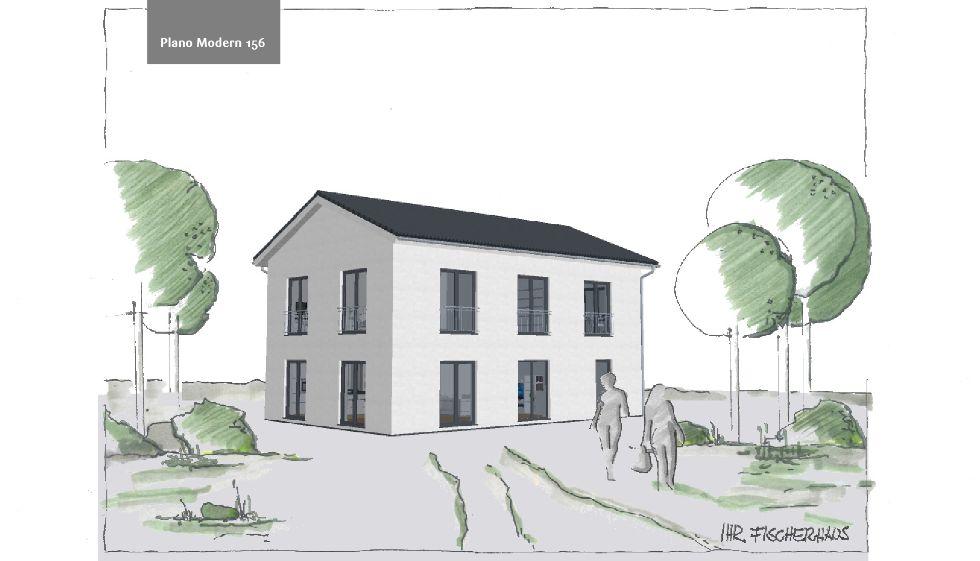 Einfamilienhaus Plano Modern 156