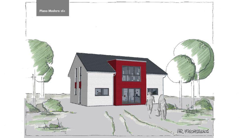 Einfamilienhaus Plano Modern 161