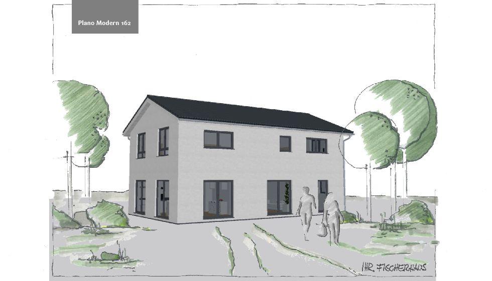 Einfamilienhaus Plano Modern 162