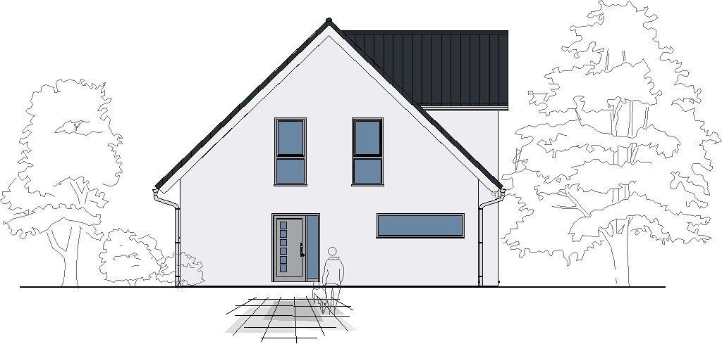 Entwurf einfamilienhaus vita klassisch 137 fischerhaus for Einfamilienhaus klassisch
