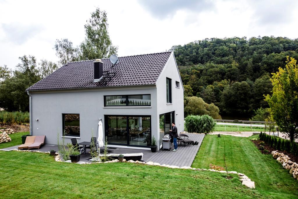 Fischerhaus Bodenwöhr referenz einfamilienhaus klassisch extraordinary fischerhaus