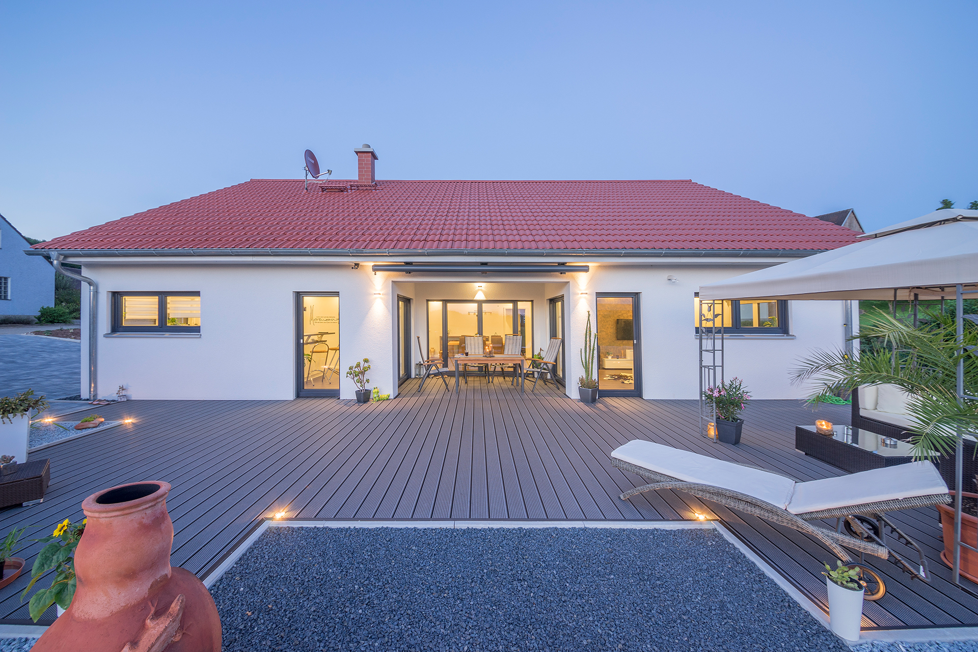 referenz einfamilienhaus bungalow 138 fischerhaus. Black Bedroom Furniture Sets. Home Design Ideas