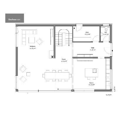 Erdgeschoss Grundriss