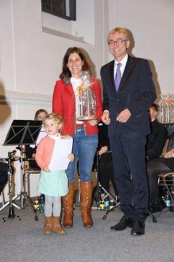 Barbara Fuchs zusammen mit Joachim Ossmann