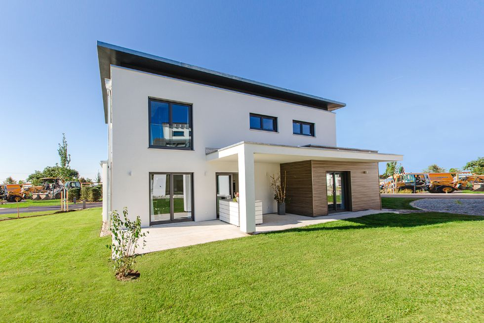 Einfamilienhaus Musterhaus CubeX