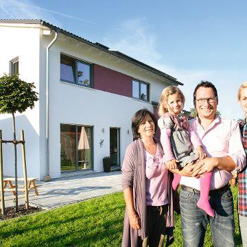 Ein Haus für drei Generationen