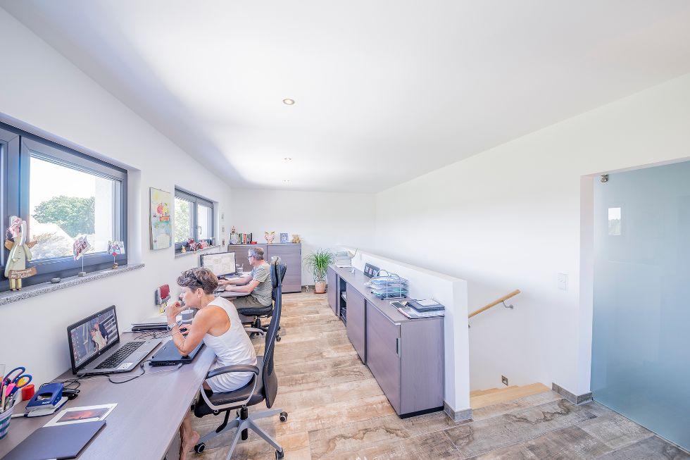 Abgetrennter Raum zum Arbeiten