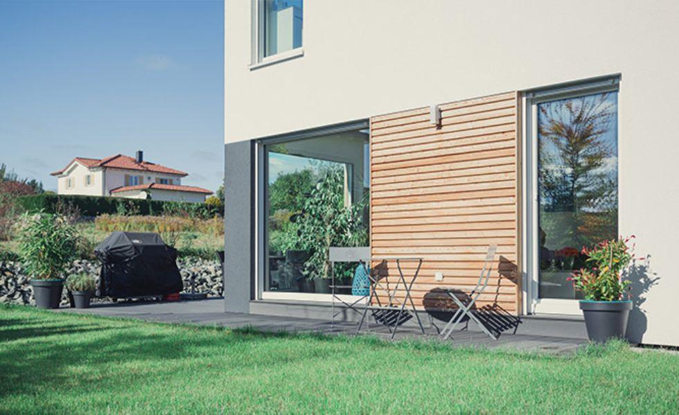 Moderne Holzvertäfelung für einen natürlichen Look