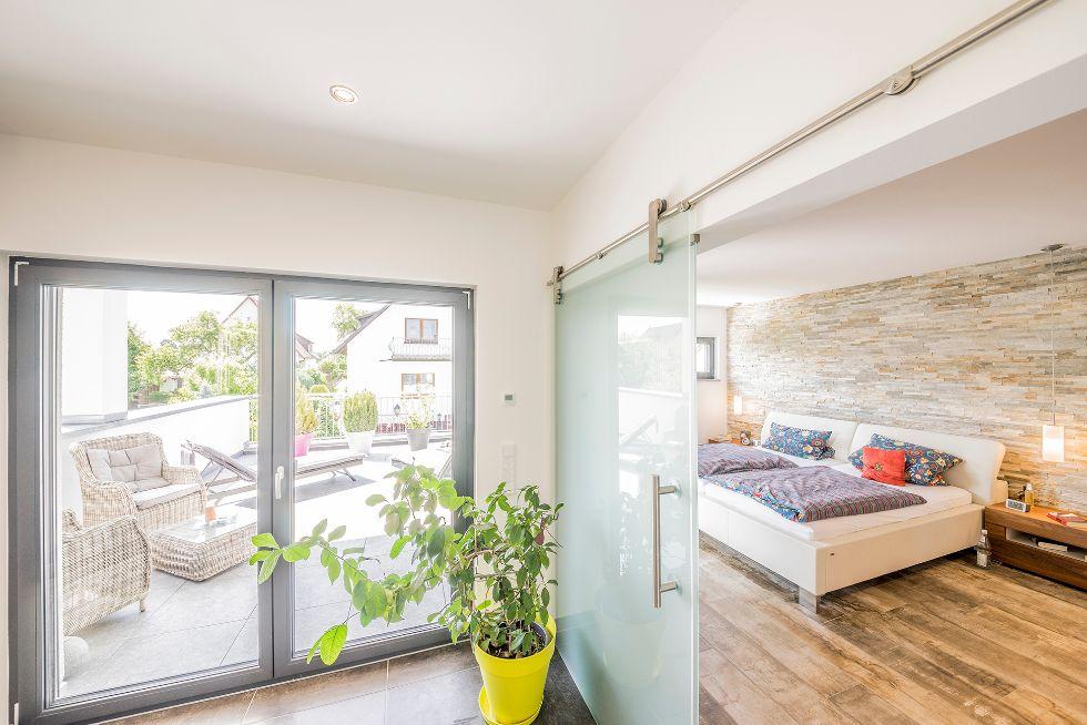 Schlafzimmer mit Vorraum