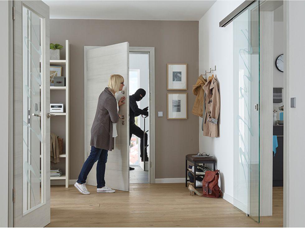 Haustüren mit Einbruchschutz
