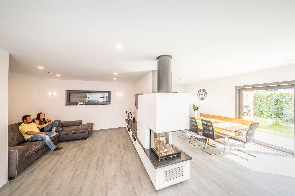 praktisches wohn esszimmer fischerhaus fertigh user aus bayern. Black Bedroom Furniture Sets. Home Design Ideas