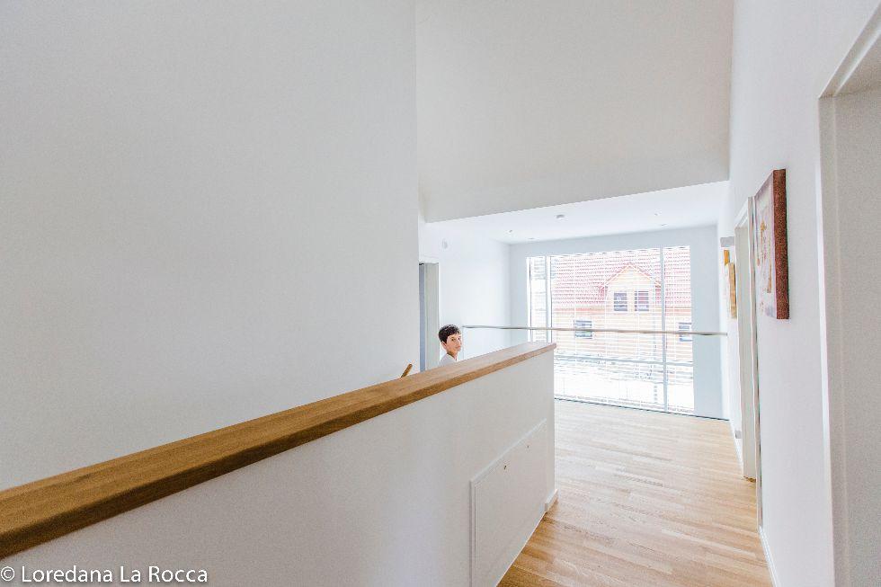 Fensterwand im Treppenhaus