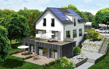 """Musterhaus """"Seegarten"""": Premiere zum Tag des deutschen Fertigbaus"""